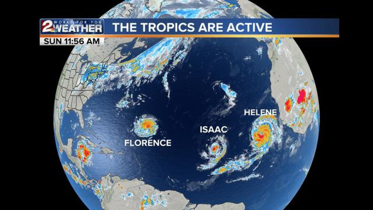 BLOG: The tropics are active