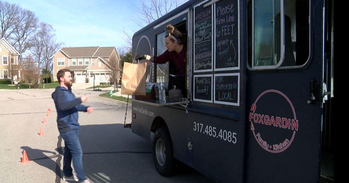 We're Open Indy: Restaurant brings food truck to neighborhoods