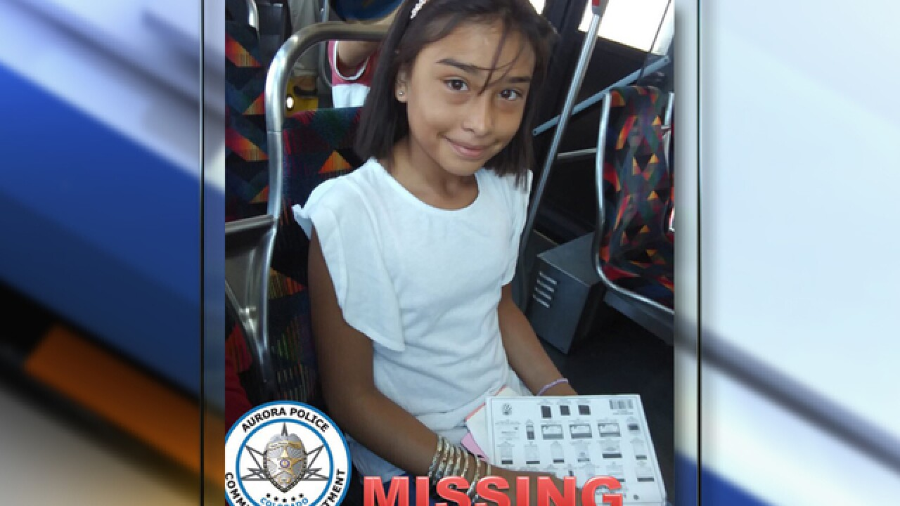 Missing 11-year-old girl last seen Friday at West Middle School found safe, Aurora police say