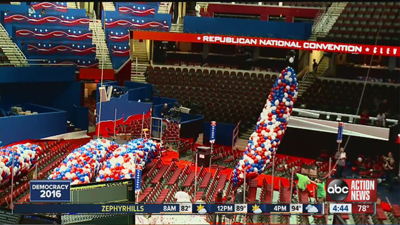 GOP Convention Kicks off in Cleveland