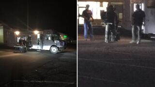 Pueblo Metro Bomb Squad responds to traffic stop