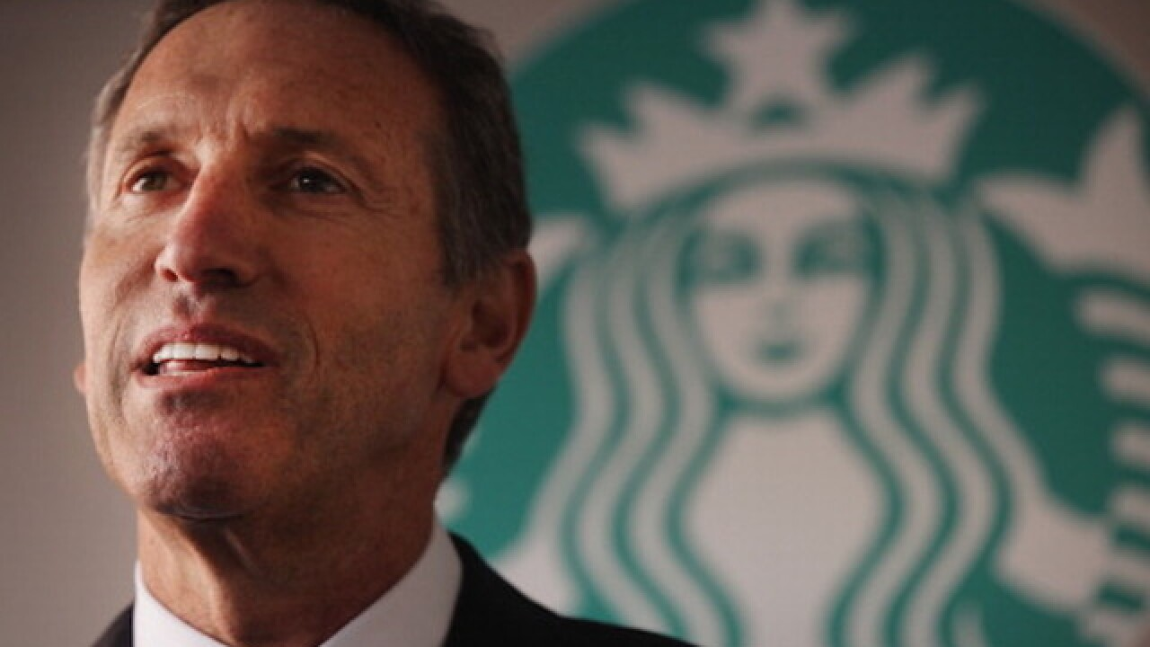 Starbucks CEO says he will step down in April
