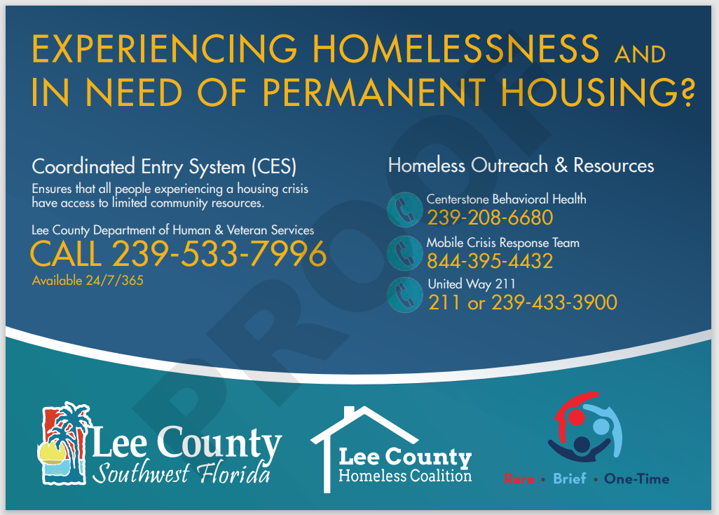 Community resources for homelessness