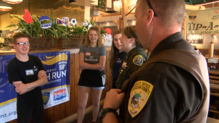 Law enforcement volunteer for tips for Special Olympics