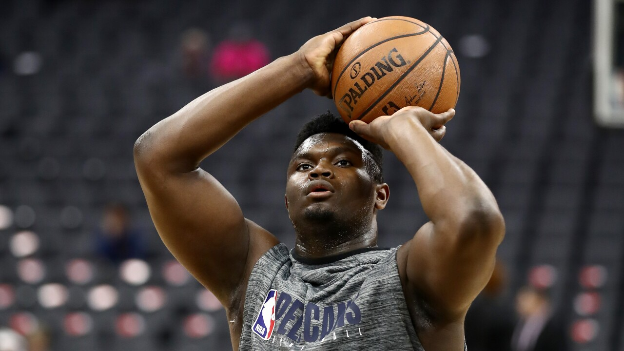 Pelicans expect Zion Williamson to make NBA debut January 22