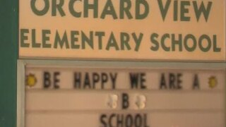 Orchard View Elementary School in Delray Beach gets red carpet treatment to begin new school year
