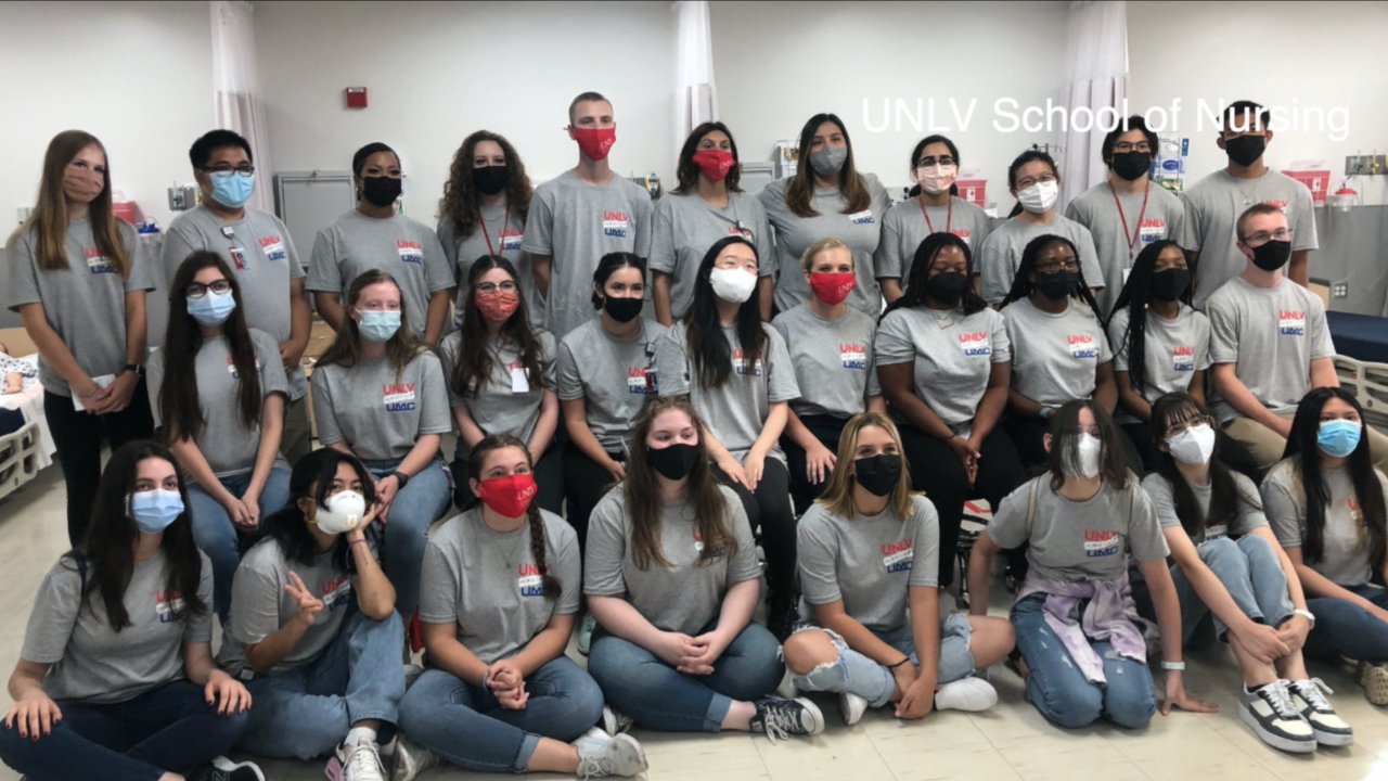 Students at UNLV's Nurse Camp eager to fight COVID-19 on the frontlines