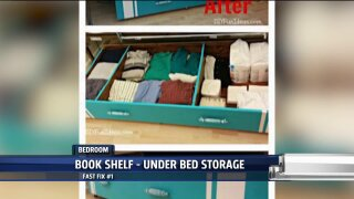 Keep your bedroom organized with these storage hacks