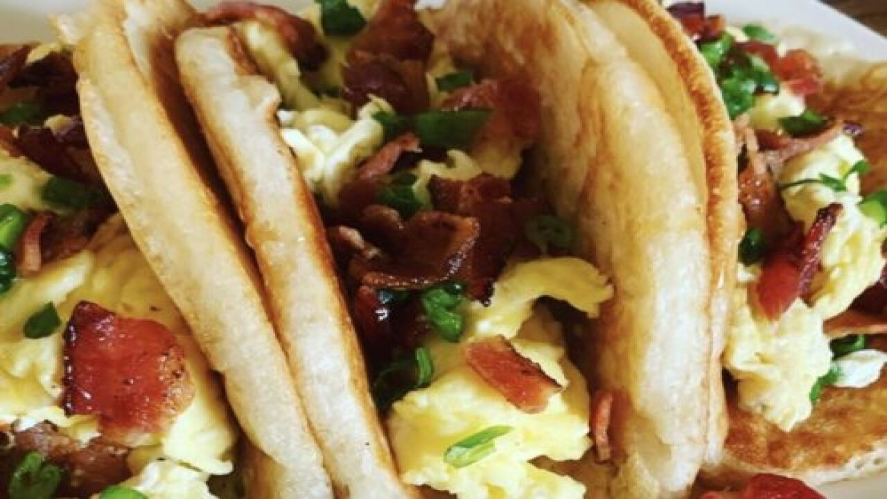 Pancake 'tacos' Are The Perfect Sweet And Savory Breakfast