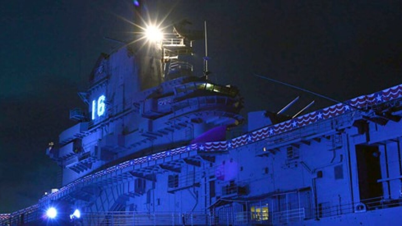 Get spooked at the USS Lexington Haunted House
