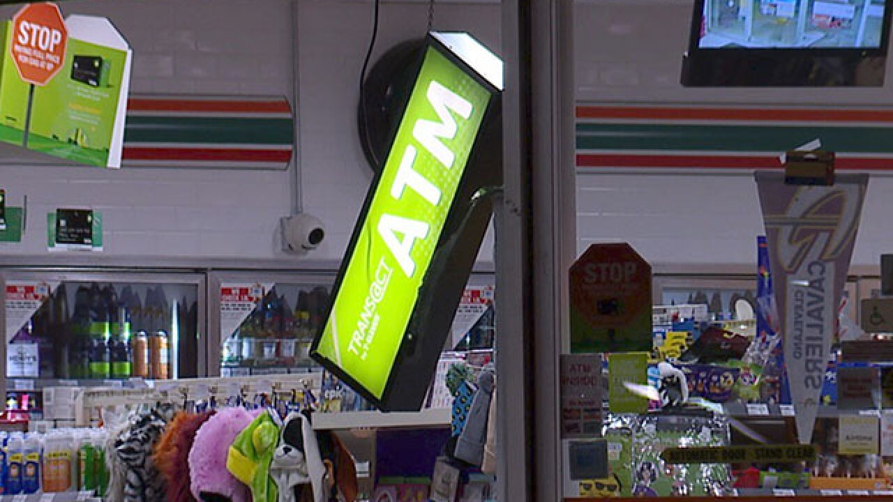 No more ATMs in Parma 7/11 after smash and grab