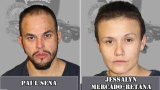 Paul Sena and Jessalyn Mercado-Retana