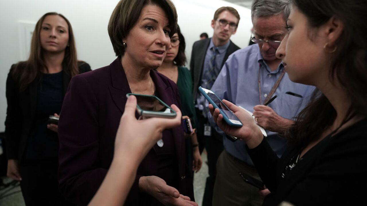 Amy Klobuchar to suspend her presidential campaign, reports say