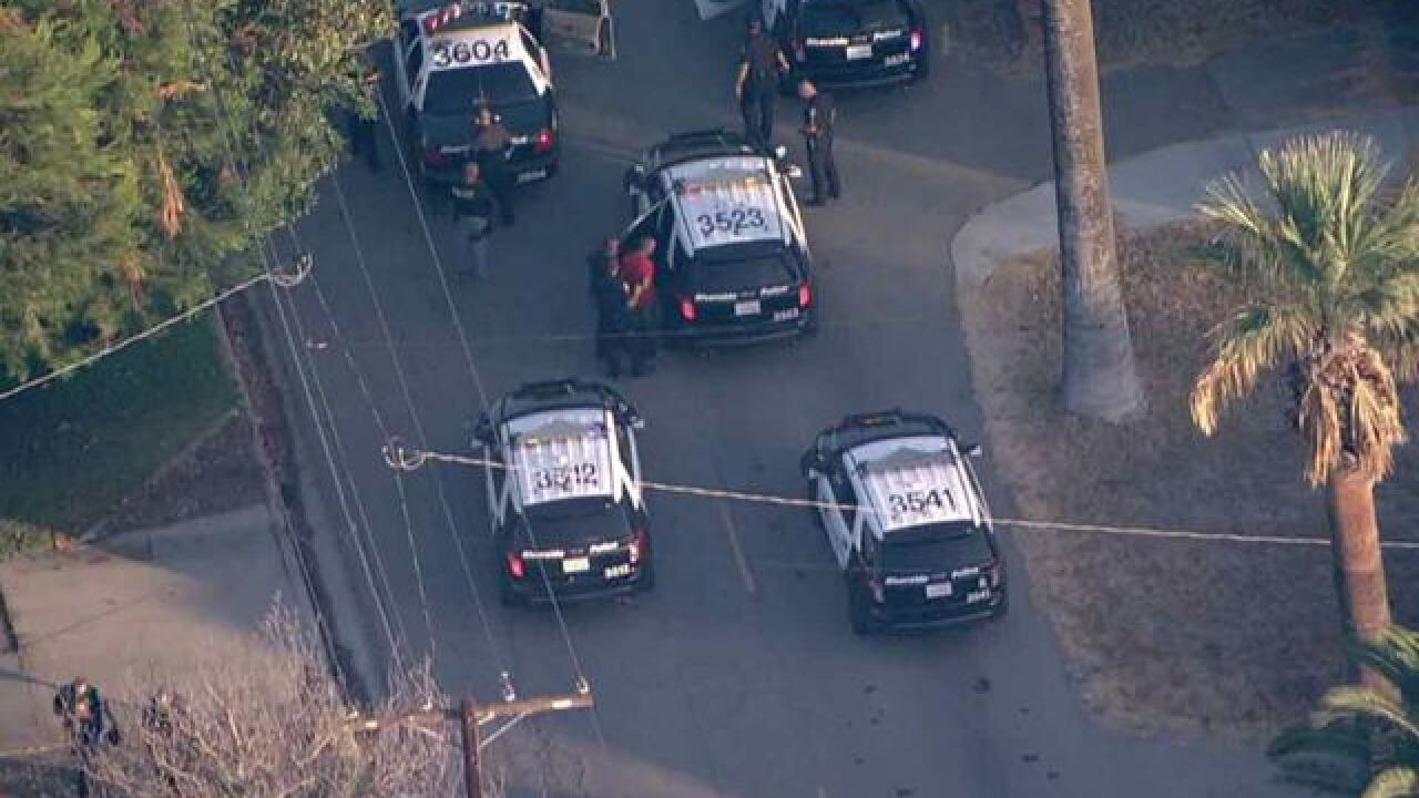 High-speed pursuit ends with arrest in Corona