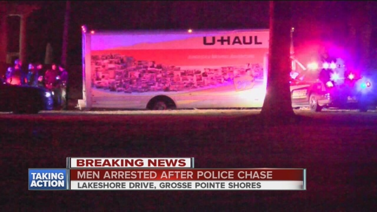 U-Haul driver leads police on wild chase