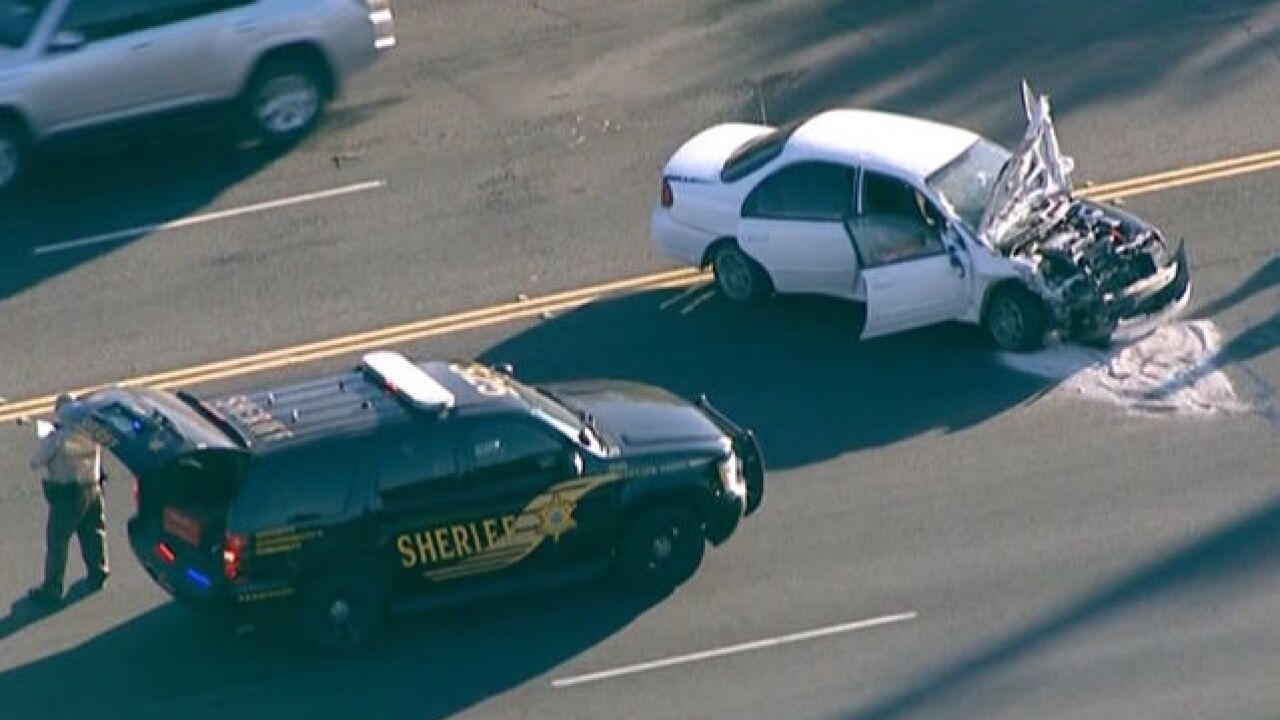 PCSO: Deputies searching for 2 pursuit suspects