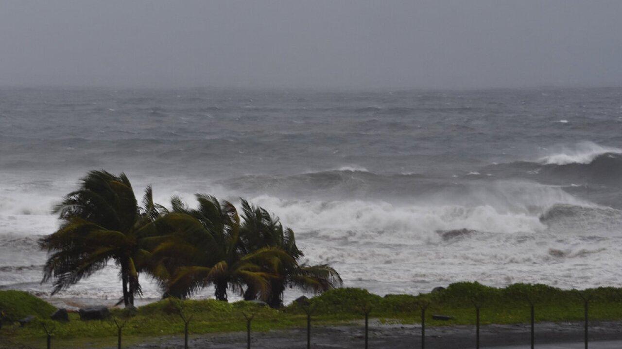 St. Vincent Tropical Weather Elsa