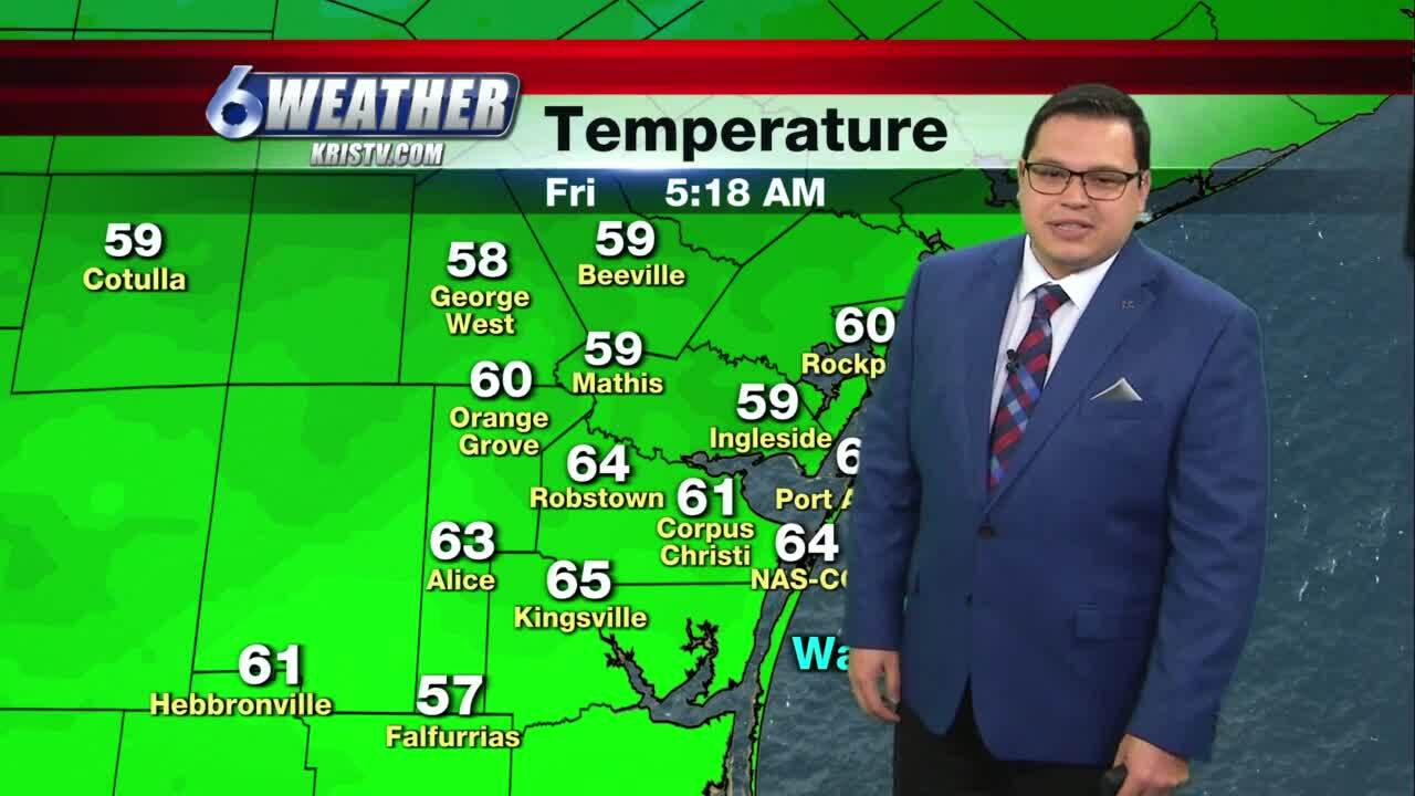 Juan Acuña's weather for Feb. 5, 2021