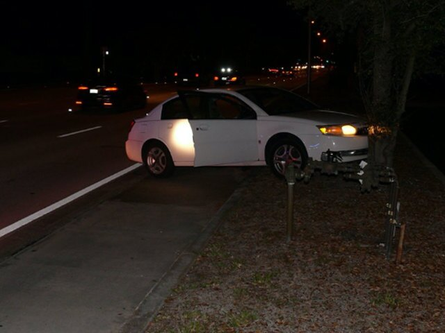 PHOTOS: Port St. Lucie couple found in crashed car with infant