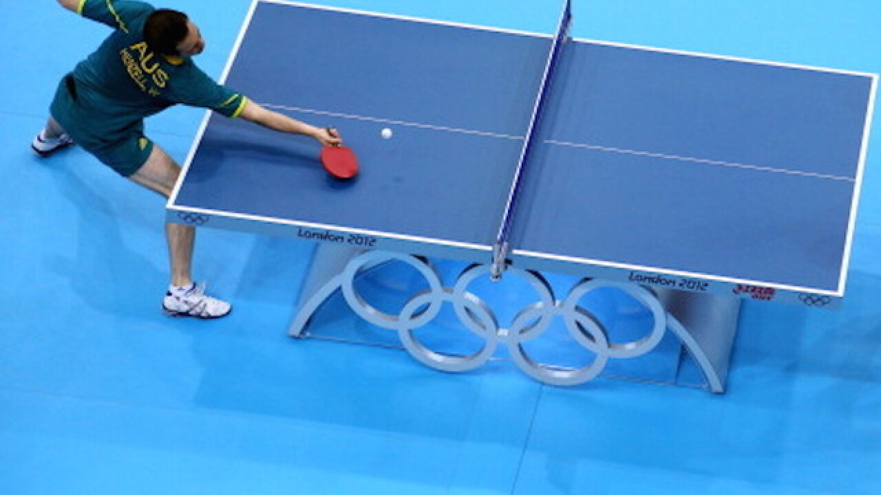Are you excited for Olympic table tennis, water polo and handball?