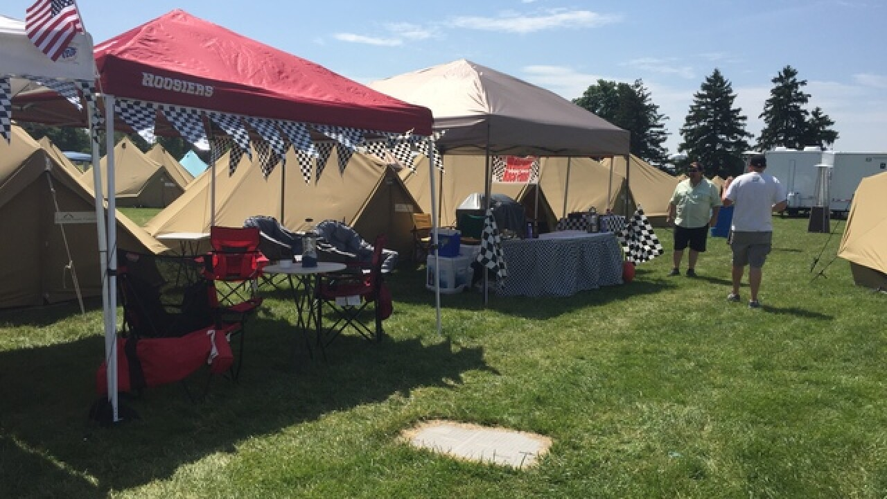 Inside look at Glamping at IMS