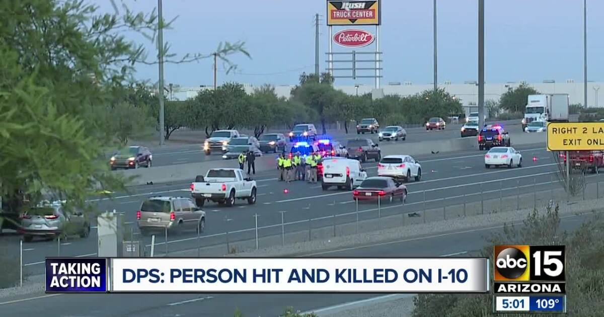 I-10/L-101 near 91st Avenue reopens following deadly