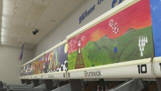 Capital High School students create new art for Helena bowling alley