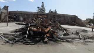 Fire destroys this California town for the second time in two years