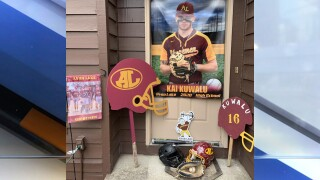 Avon Lake High School Senior Shoremen Kai Kuwalu