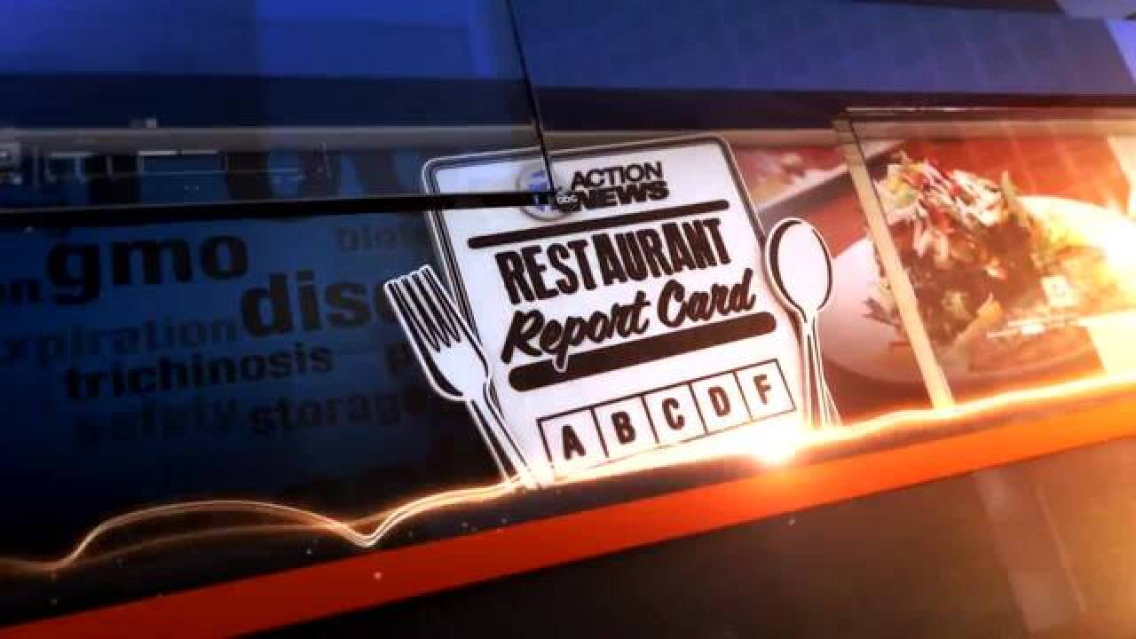 Restaurant report cards: Washtenaw County
