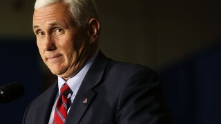 Pence, Adelson to meet privately