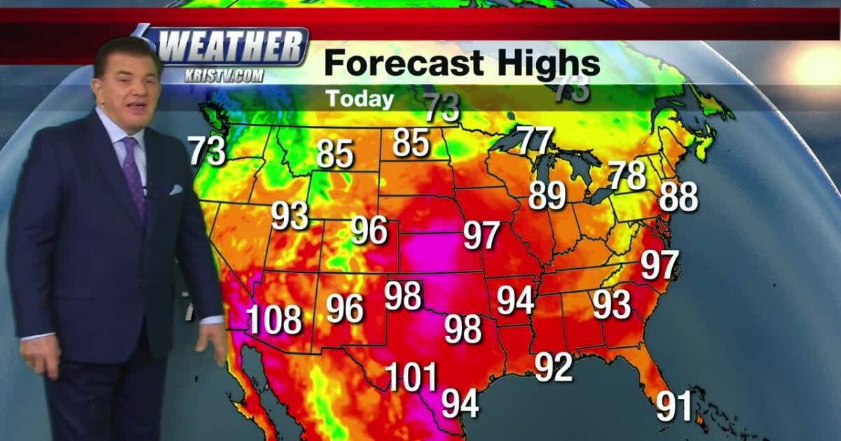 We're part of a national heat wave