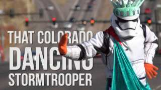 The Dancing Stormtrooper of Colorado Springs