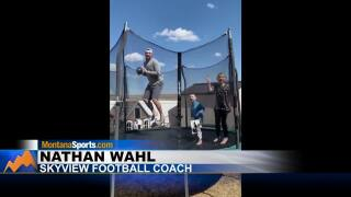 "Great Falls boy inspires a game of ""virtual catch"""