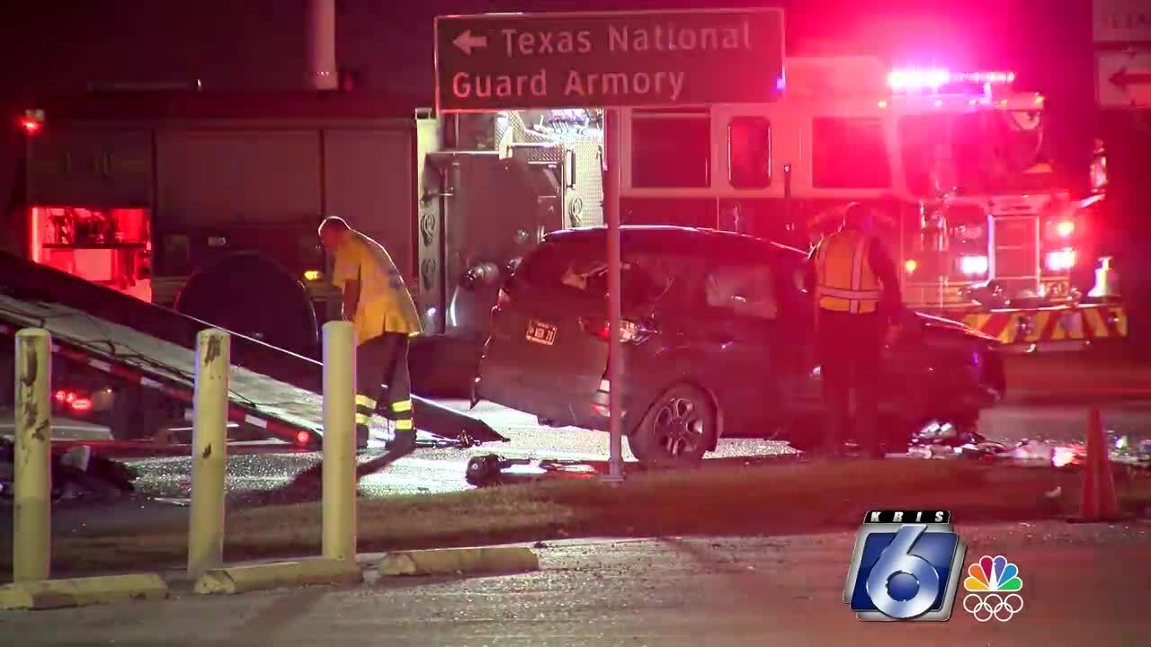Crosstown Expressway and Horne Road crash