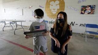 Virus Outbreak Refugee School