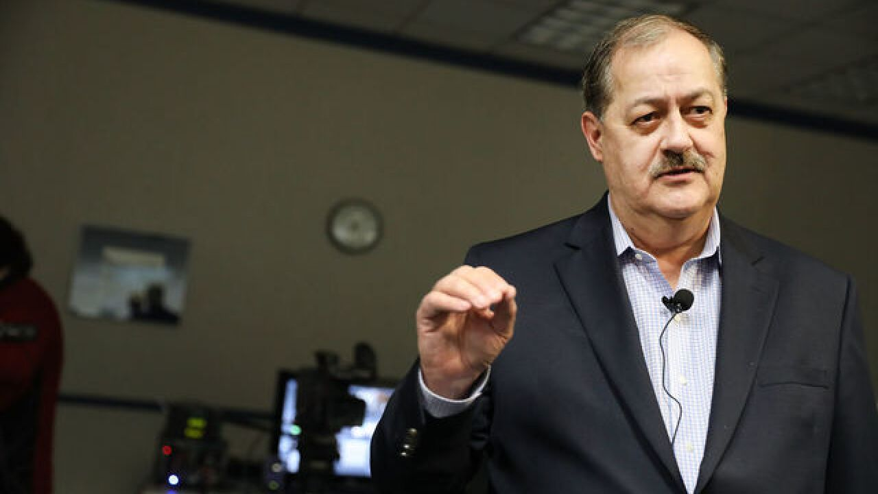 Trump urges West Virginia voters to reject Blankenship