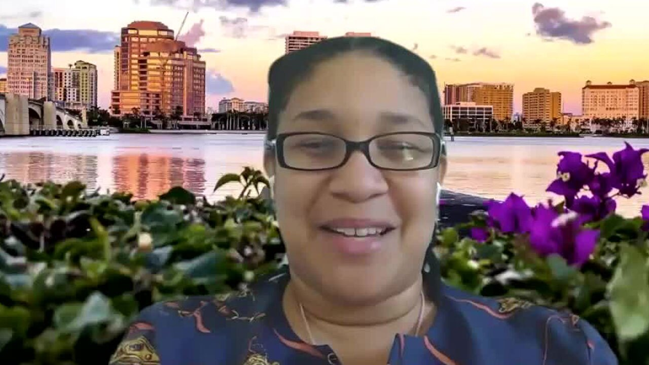 Teneka Feaman, Associate Executive Director for the West Palm Beach Downtown Development Authority