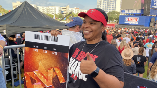 Dr. Henrissa Berry surprised with tickets to Super Bowl 56.
