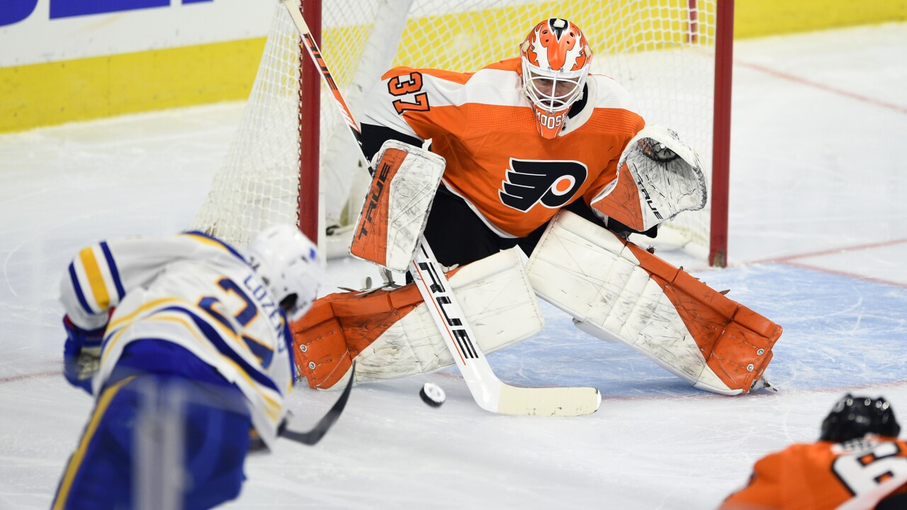 Flyers shut out Sabres 3-0