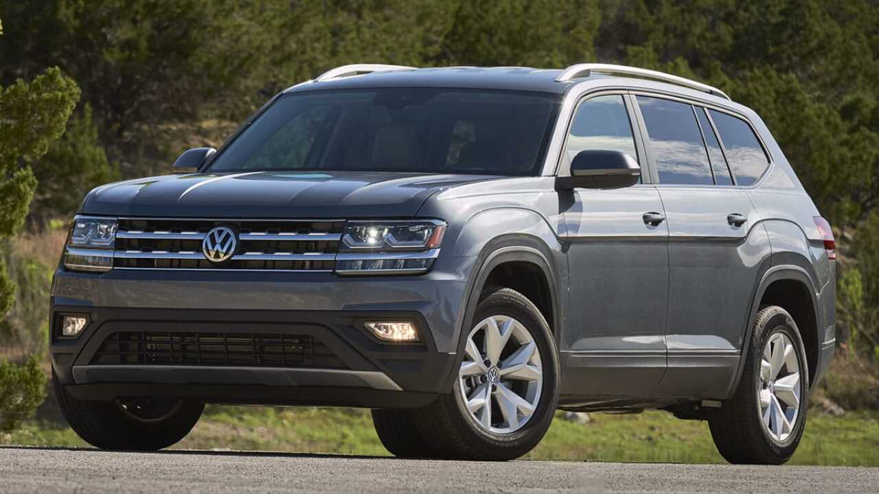 2018 Volkswagen Atlas recalled for car seat issue