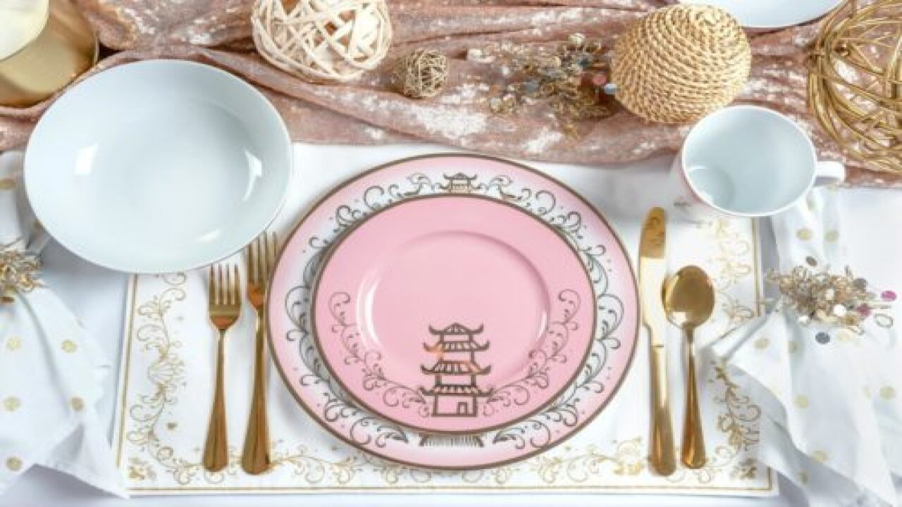 Disney Princess Ceramic Dinnerware Set Is So Pretty