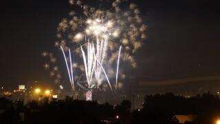 PHOTOS: Fireworks erupt across Colorado