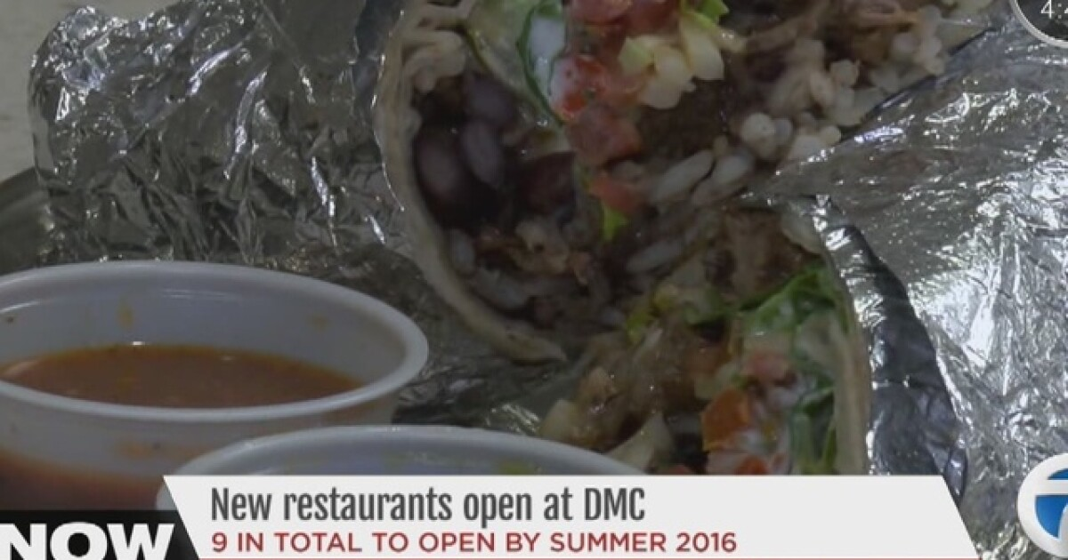New restaurants open at Detroit Medical Center