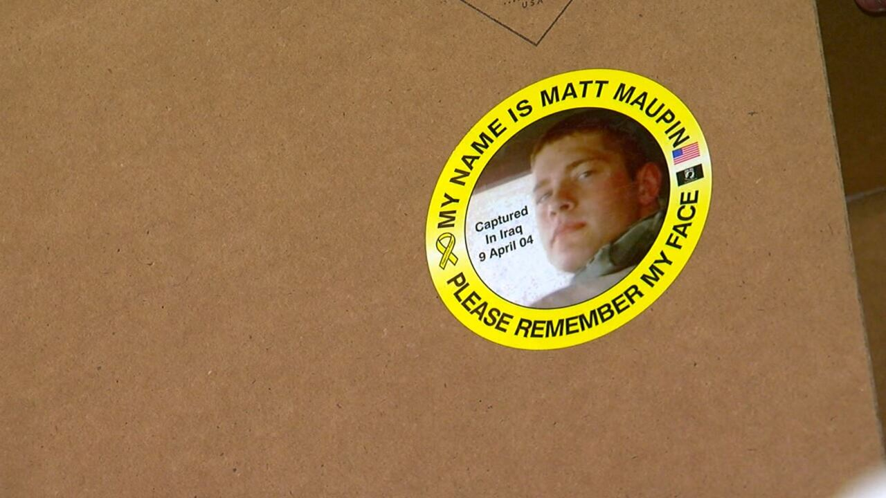 Matt Maupin Sticker