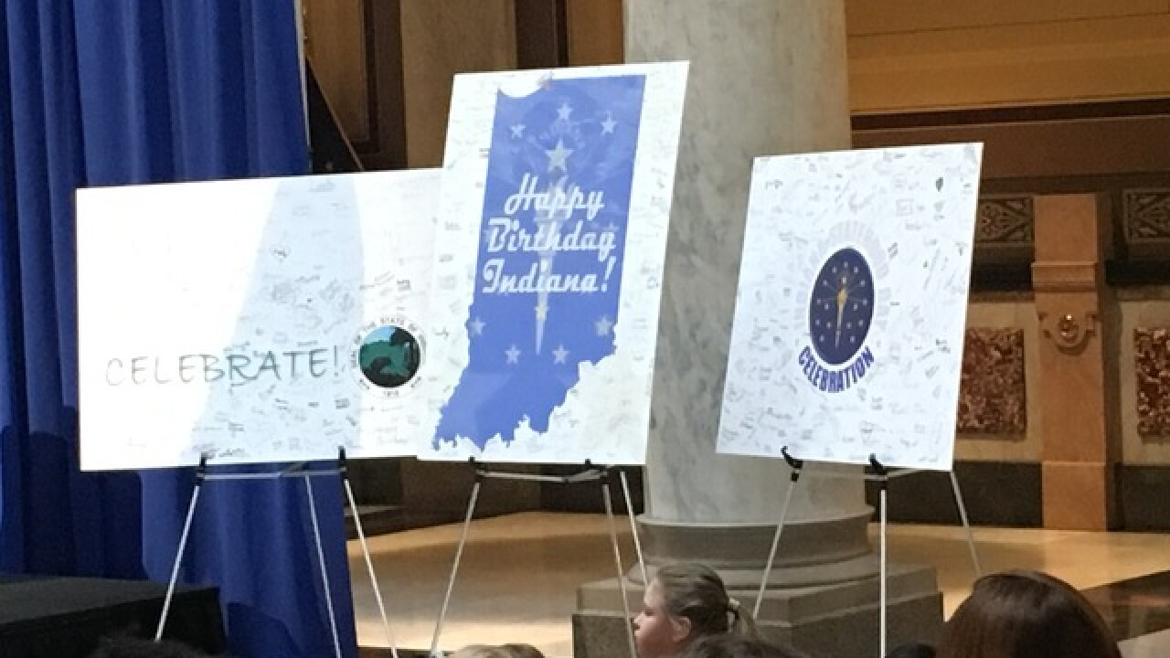 State's birthday celebrated at Statehouse