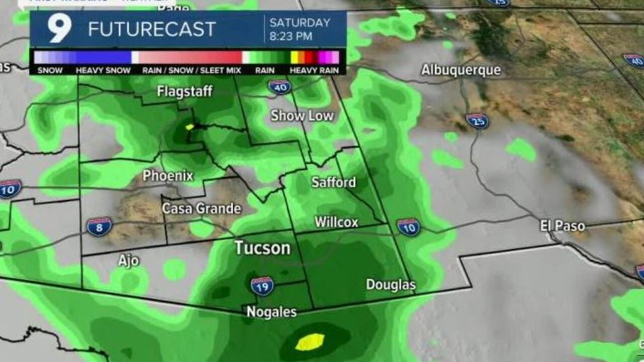 The National Weather Service issued a Flash Flood Watch for parts of Southern Arizona.