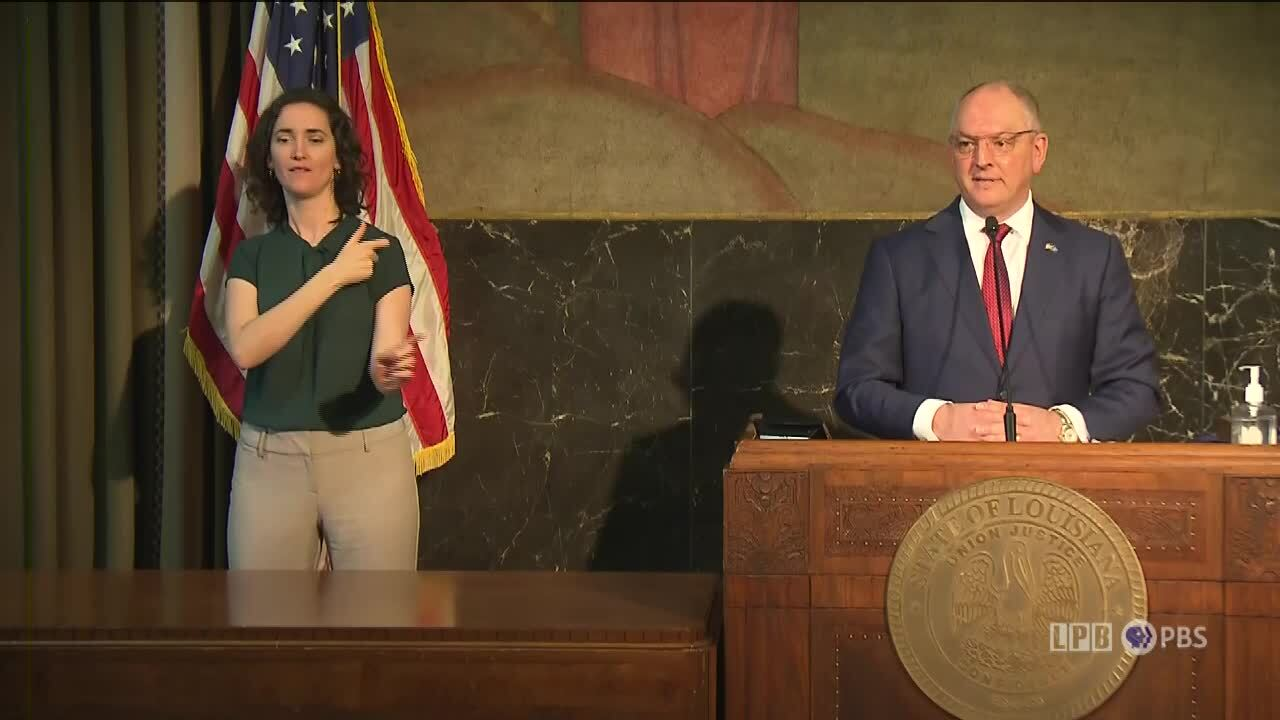 Gov Edwards presser March 2, 2021