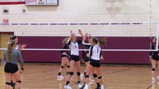 Western C divisional volleyball tournament: Gardiner, Manhattan Christian advance to semifinal