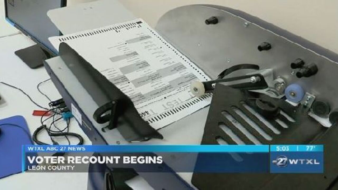Recount scheduled for Leon County Commission District 3 race